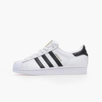 Adidas(阿迪达斯) 三叶草 金标贝壳头 白色 经典运动休闲男女同款 SUPERSTAR C77154 38