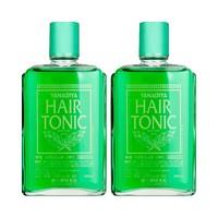 日本进口柳屋生发液发根营养液防脱固发中草药止痒薄荷味2瓶装