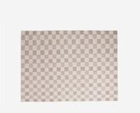 YANXUAN 网易严选 1030003 羊毛手工几何地毯  160*230cm 朽叶褐
