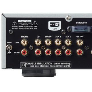ROTEL A14 音响 音箱 hifi高保真 家用功放机 立体声合并式功率放大器 PC-USB/蓝牙/支持DSD和DoP 银色