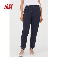 H&M 0795733 女款保暖加绒卫裤