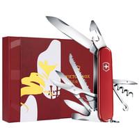 真心好禮 : VICTORINOX 維氏 1.3713T3 瑞士軍刀 都市獵人鼠年生肖新年禮盒