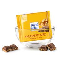 Ritter Sport 瑞特斯波 玉米片牛奶巧克力 100g
