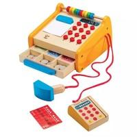Hape小賣部收銀臺3-6歲兒童過家家益智玩具創意收納嬰幼玩具E3121 *2件