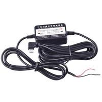 行車記錄儀通用停車監控降壓線24小時停車監控12/24V轉5V低電壓保護Micro USB接口