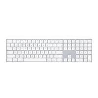 Apple 苹果 带有数字小键盘的妙控键盘 银色