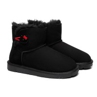 限尺码 : Everugg HELLO KITTY联名款 821012/851004 皮毛一体雪地靴