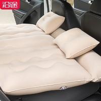 沿途車載充氣床墊后排suv汽車后座轎車成人睡墊旅行氣墊床