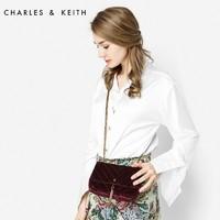 CHARLES&KEITH CK2-20840103 丝绒斜挎小方包 *2件