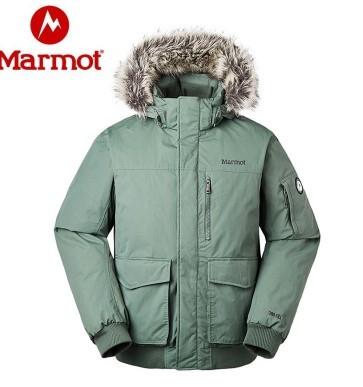 Marmot 土拨鼠 V81673 男士羽绒大衣