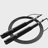 feebo F610 鋁制軸承鋼絲跳繩 黑色