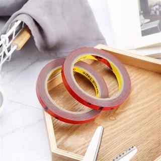 3M胶带 强力 泡棉双面胶带 汽车专用/家居通用胶粘 无痕 耐水  耐高温 10毫米*3米 2卷装