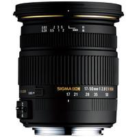 适马(SIGMA)17-50 F2.8 EX DC OS HSM 半画幅 标准变焦镜头 恒定光圈 挂机人像风光 (佳能单反卡口)
