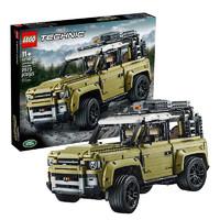 LEGO 乐高 科技机械组 42110 路虎卫士越野车