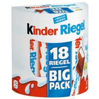 银联爆品日:kinder 健达 夹心牛奶巧克力 18包