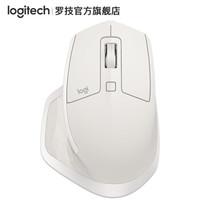 Logitech 罗技 MX Master 2S 无线鼠标 哑光白