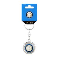 国际米兰足球俱乐部 Inter Milan 旋转金属钥匙扣