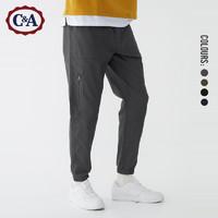 C&A CA200220824-GD 男士束脚工装裤