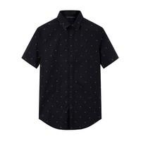 PEACEBIRD MEN 太平鳥男士短袖襯衫 B1CC62406 *3件
