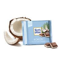 银联爆品日:Ritter Sport 瑞特斯波 椰子夹心巧克力 100g