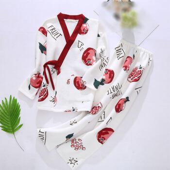 MAX WAY 女装 2019秋冬新款日系和服加厚夹层甜美孕妇产后哺乳装QDmw0106 白色 3XL
