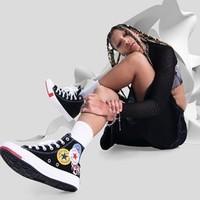 CONVERSE 匡威 CTAS Logo Play 中性撞色休闲鞋帆布鞋