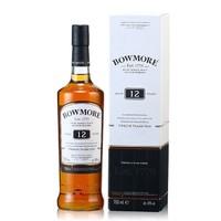 Bowmore 波摩 12年单一麦芽 烈酒艾莱岛 苏格兰威士忌 700ml