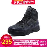 PONY/波尼滑板鞋經典休閑男女運動休閑籃球鞋83W1M101 黑色(男) 43
