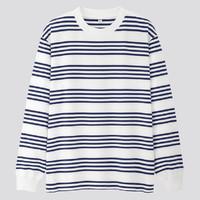 UNIQLO 优衣库 421635 男装 横条T恤(长袖)
