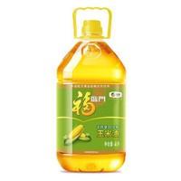 福臨門 食用油 非轉基因壓榨玉米油 4L