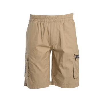 匹克(PEAK)运动裤梭织五分裤男子户外耐磨透气休闲裤男短裤 DF392391 卡其 X3L