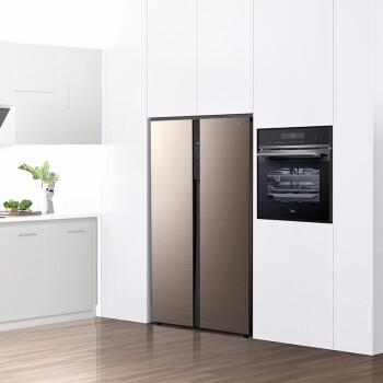Midea 美的 BCD-541WKPZM(E) 风冷 对开门冰箱 541L