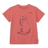 SENSHUKAI 千趣會 女童純棉可愛印花短袖T恤