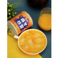 林家铺子 芒果杨枝甘露椰果黄桃西米露罐头港式甜品水果罐头312g*3