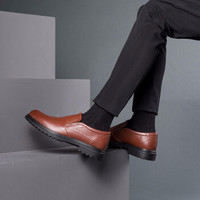 奧康 男士商務休閑皮鞋 *2件