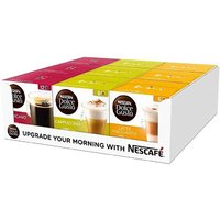 中亚Prime会员:Nescafé 雀巢 Dolce Gusto Nescafe 混合咖啡胶囊 9盒