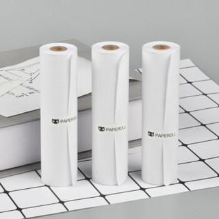 PAPERANG喵喵机MAX错题打印机-C1专用官方十年10年长效定制热敏纸111*30mm错题试卷打印纸 不含双酚A