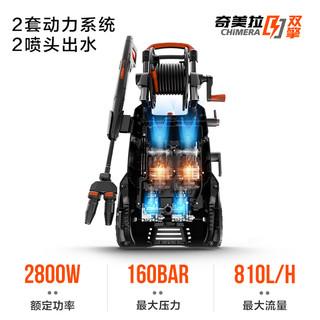 YILI 亿力 YLQ6200C-160C 双擎双枪头洗车机