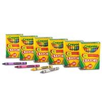 Crayola 绘儿乐 儿童绘画蜡笔 24色 6盒装