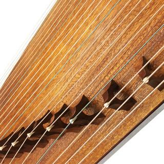 敦煌古筝韵牌FT6D花梨木飞天乐舞图案初学入门练习考级古筝