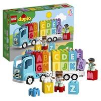 京东PLUS会员:LEGO 乐高 得宝 10915 字母卡车