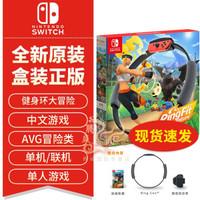 Nintendo 任天堂 健身环大冒险 中文(体感全身运动)