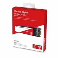 西部数据  WD Red SA500 M.2接口 sata固态硬盘 NAS专用 2TB