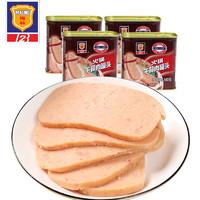梅林 午餐肉罐头 340g*4罐