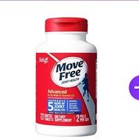 MoveFree 软骨素 维D蓝瓶 120粒 *2瓶