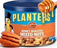 planters 紳士 罐裝每日堅果 蜂蜜腰果 混合堅果 零食283g2罐