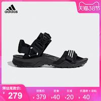 阿迪達斯 adidas 2019夏季新款男女戶外沙灘鞋涼鞋 EF0016