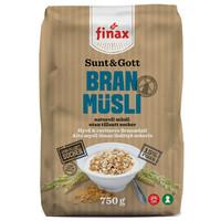 瑞典进口 finax 谷物燕麦片 750g *3件