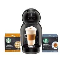 京东PLUS会员:Dolce Gusto  Mini Me 胶囊咖啡机+星巴克胶囊两盒