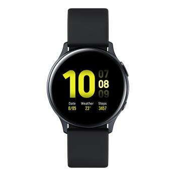 SAMSUNG 三星 Galaxy Watch Active2  R830 智能手表 (水星黑、硅胶)